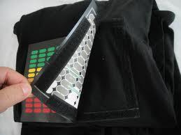 Pacote de Opp de alta qualidade será embalado cor preta O pescoço camisa + Neon design personalizado painel EL + Dc6v som ativado inversor