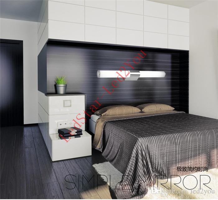 새로 디자인 된 현대 8W 12W 16W 24W LED 욕실 전등 거울 벽 빛 실내 거울 전면 sconces 조명 램프