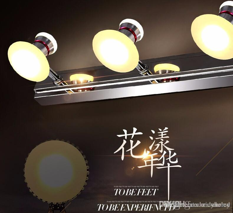 Best Led Mirror Lights Vanity Front Wall Lamps Living Bathroom Led ...