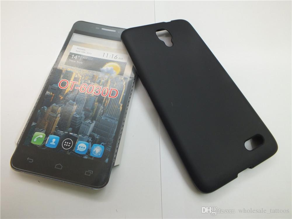 Anti Skidding Slim Soft Gel TPU Case For Huawei Honor V10 Alcatel One Touch Idol OT-6030D Mobile Phone Rubber silicone Back Cover