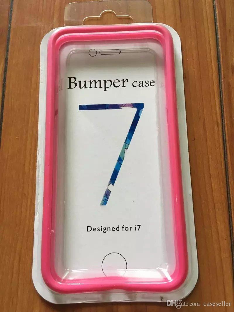 Renkli çift renk TPU Çerçeve Kapak Metal Düğme Tampon durumda iphone X iphone7 6 S ARTı 6 renkler