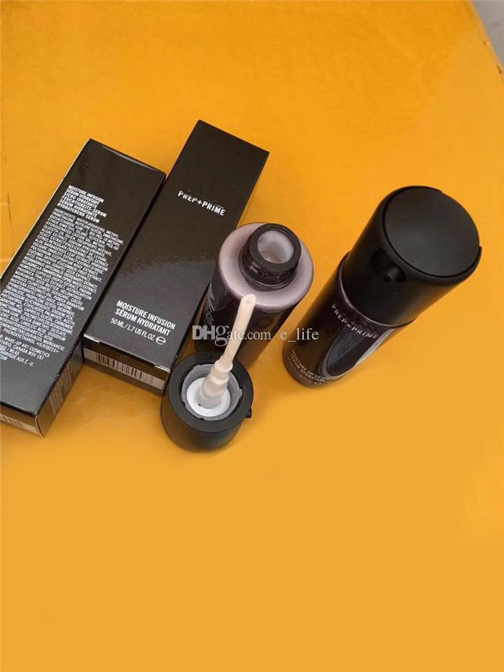 ¡Alta calidad! Nueva cara Prep + Prime humedad Infusión Serum Hidratante Primer 50ml botellas de vidrio Fundación envío libre de DHL