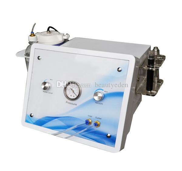 المحمولة 2 في 1 هيدرو الجلدي الماس بيل آلة microdermabrasion مع 9 نصائح الماس و 8 نصائح هيدرو لتجديد الوجه
