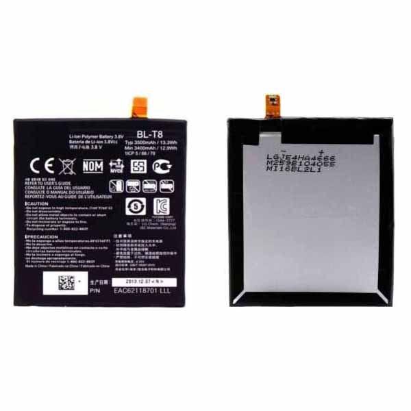 Original OEM BL-T8 BLT8 Battery For LG G Flex F340 D950 D955 D958 D959 LS995 3500mAh Wholesale