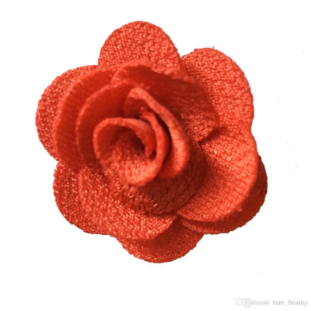 15% off!new arrival 4cm Mini Burlap Flowers felt back,Fabric Flower, DIY, Hair Accessories Baby Headbands volume rose flower 100ps/
