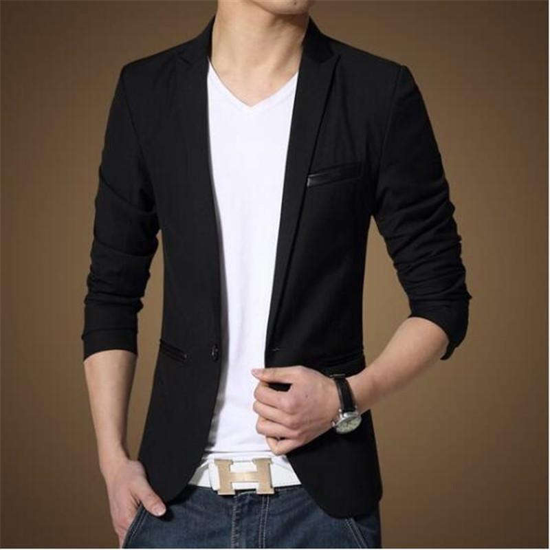 Best Wholesale 2017 New Luxury Mens Formal Dress Jackets Coats Black
