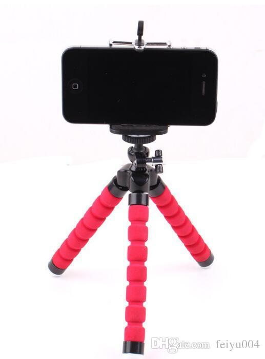 2017 mobile phone camera magic Octopus Octopus mini tripod bracket sponge three tripod wholesale