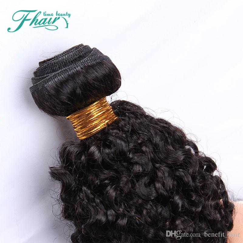 Premium Now Afro Kinky Curly 8A Peruvian Human Hair Weave Bundles With Lace Frontal Closure 13x4 Cheap Sensational