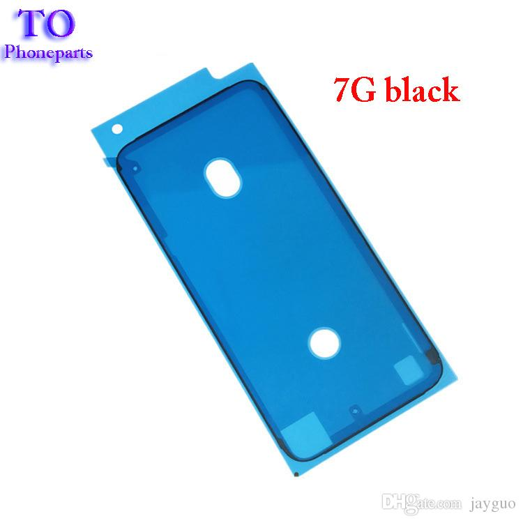 Front LCD Frame Housing Waterproof Sticker 3M Pre -Cut Adhesive Glue Tape Sticker For iPhone 6s plus 7 8 Plus