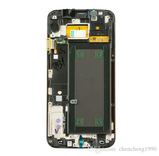 Nuovo OEM Digital Touch Screen Digitizer con Frame sostituzione Samsung Galaxy S6 Edge G925F G925A G925 G925T G925P G925V G925V G925