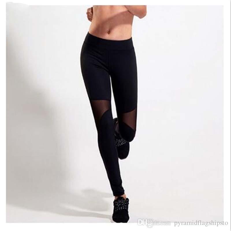e0c9284d3c0a Acquista Pantaloni Da Yoga Da Donna Leggins Da Palestra Sport Da Donna  Fitness Pantaloni Da Corsa Da Donna Pantaloni Da Corsa Pantaloni Sportivi  ...