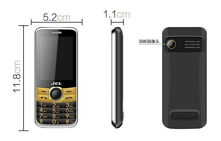 Darren / Beijing Qaeda A351 2.4-inch dual card straight keys old machine voice Wang big horn mobile phone QQ