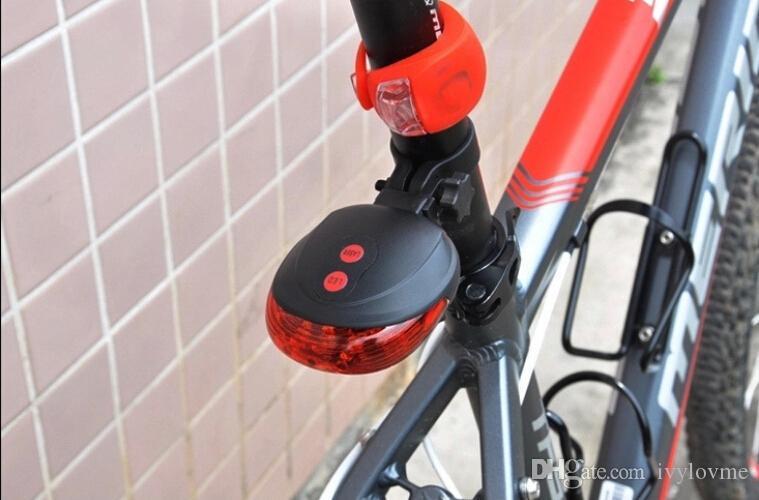 5 светодиодов 2 лазера  велосипед лазерный свет велосипед задний задний фонарь Велоспорт безопасности светодиодная вспышка высокое качество Бесплатная доставка
