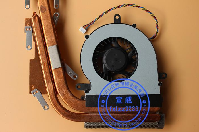 Tubo de calor del disipador de calor del módulo del radiador de ventilador del nuevo Lenovo B465C G465C original