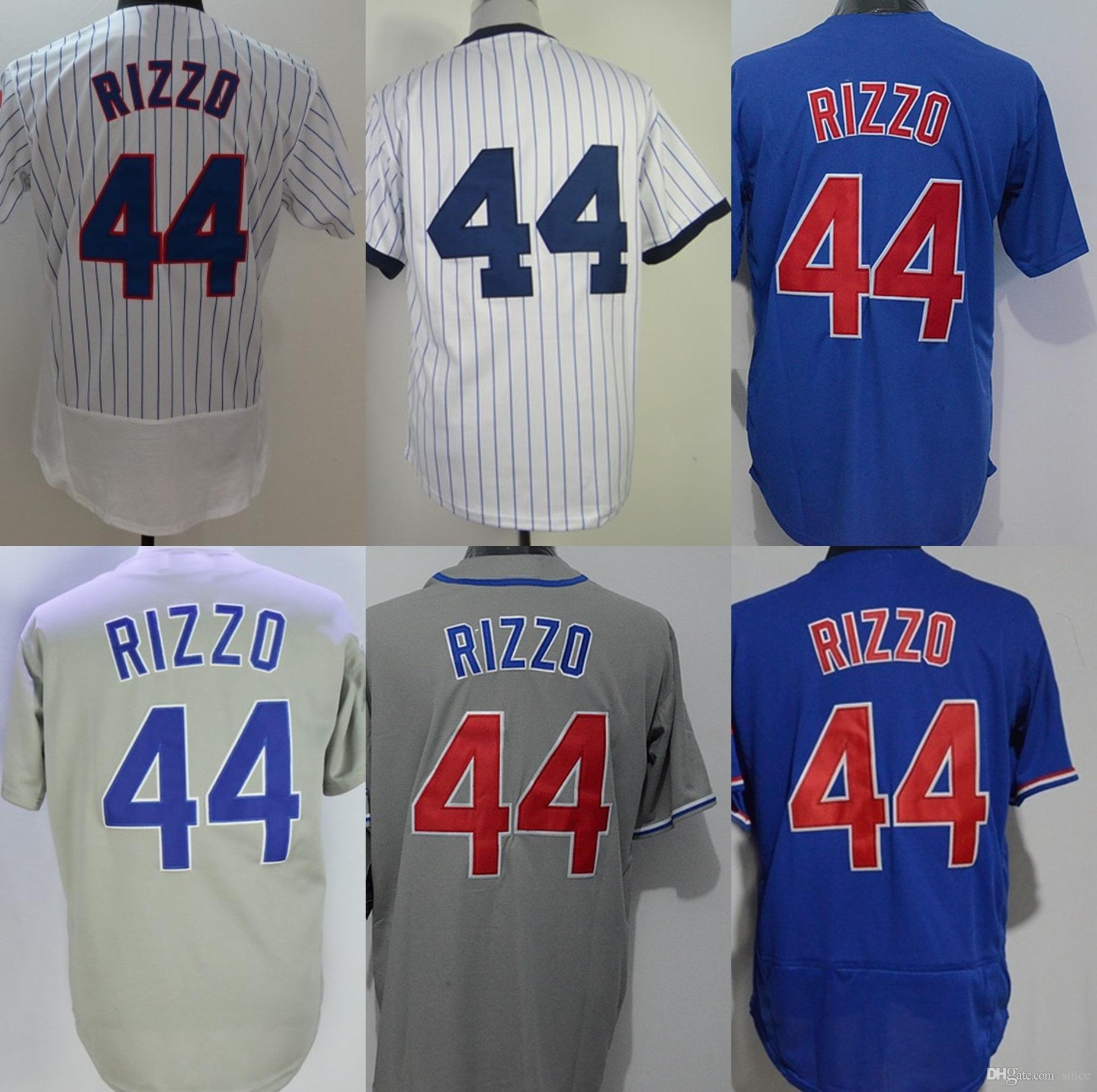 046196e8c60 ... cubs youth sublimated jersey top a9345 360c5  promo code for 2018  factory outlet mens womens kids chicago 44 anthony rizzo grey blue white