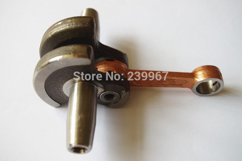 Crankshaft fits Robin NB411 CG411 49CC Engine Motor brush cutter replacement part
