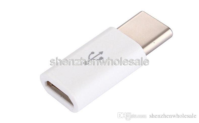 wholesale free ship USB 3.1 Type-C Male to Micro USB Female Mini Connector Adapter Type C Factory outlets