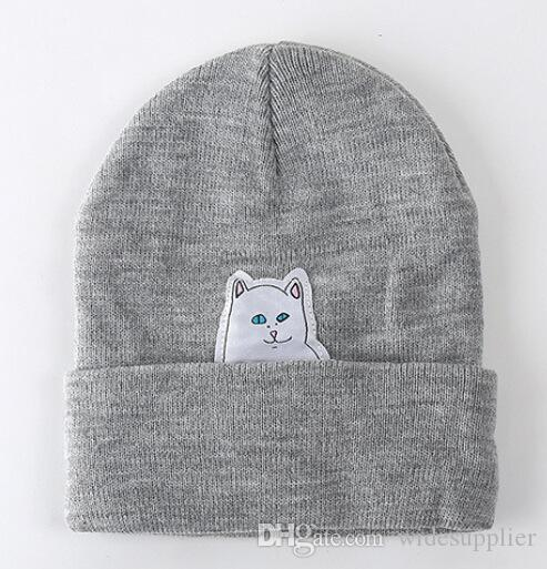 Fashion unisex outdoor Beanie stripes hip hop knitting hat Korean trendy wool hat Cap Headgear Headdress Head Warmer