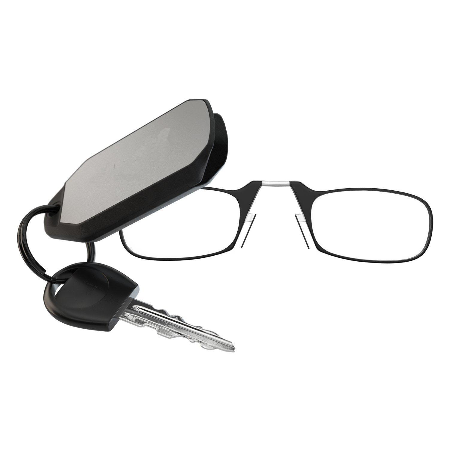 538c4c9f448 Keychain Reading Glasses 1.00 1.50 2.00 2.50 Strength- Black  Red ...