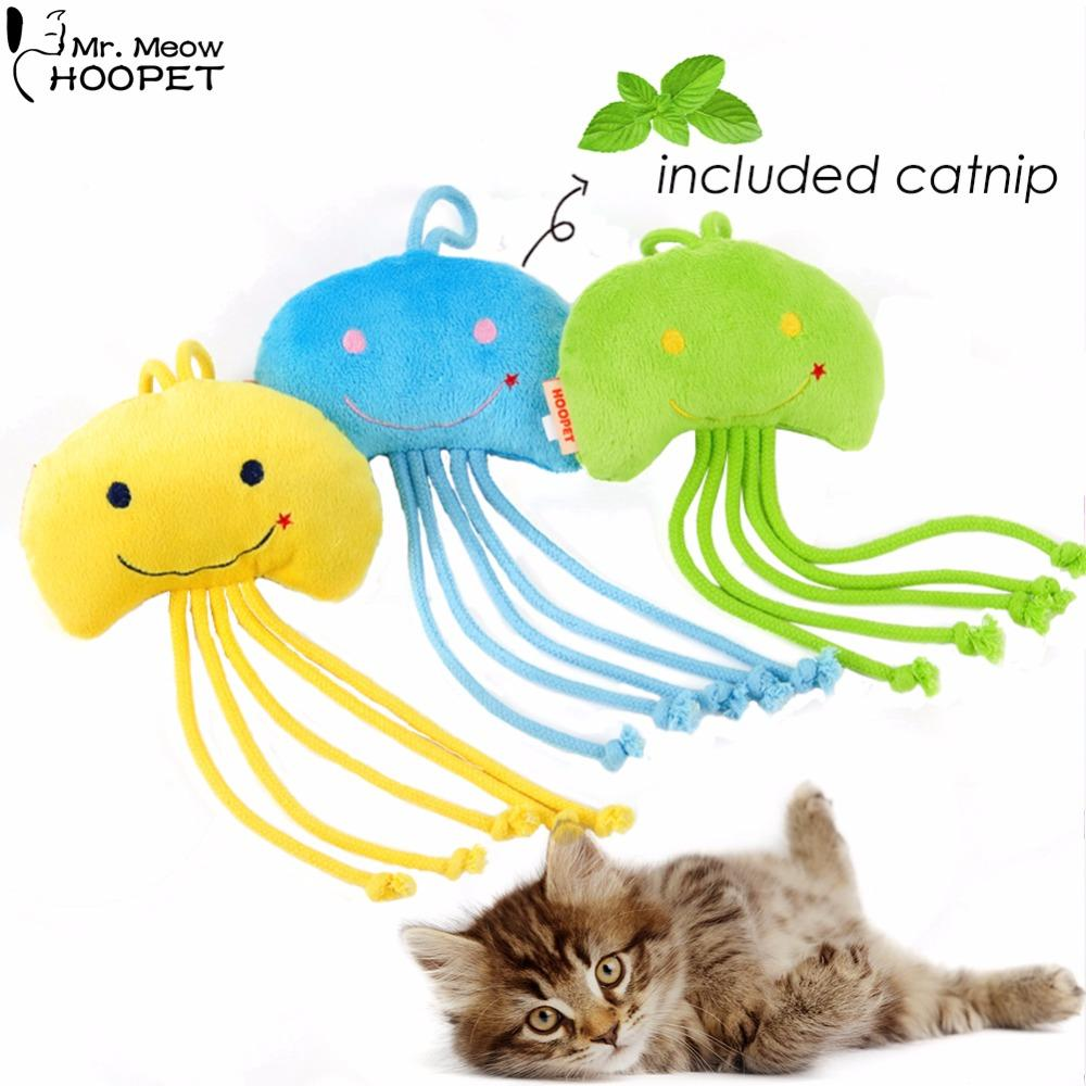 For Pet Training Pet Products Pet Dog Puppy Jellyfish Plush Toy Cat Kitten Teaser Scratching Chew Toys Funny Interactive Toys Home & Garden Pet Products