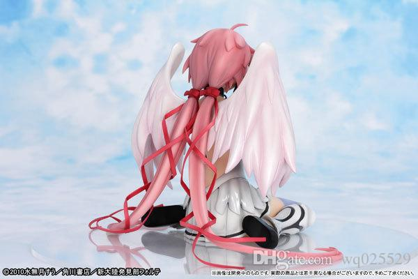 Japanischer Karikatur-Anime Sora kein otoshimono verlorenes Eigentum der Himmel icarus reizvolle Mädchenspielwaren der Tätigkeits-Abbildungen für Kinder PVC 15cm