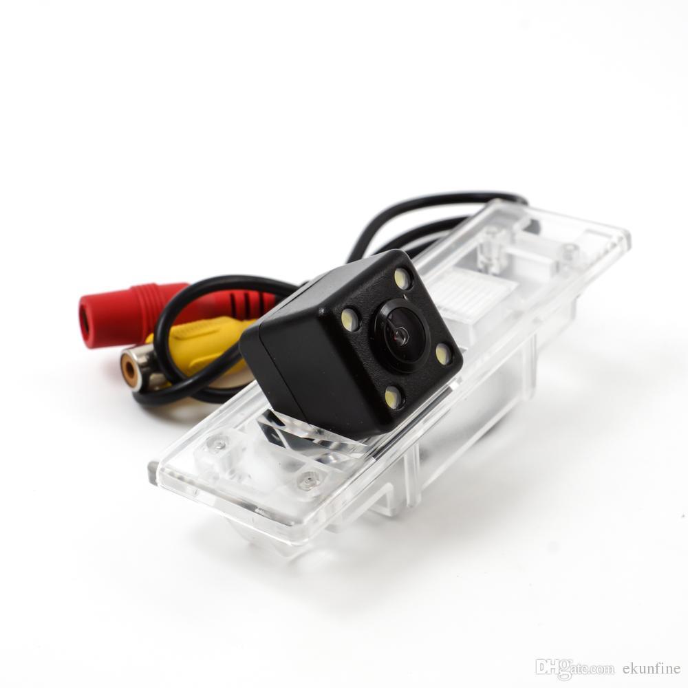 Telecamera retromarcia CCD Track Car BMW 120I Telecamera di assistenza al parcheggio con Track line Night Vision LED KF-V1196L impermeabile