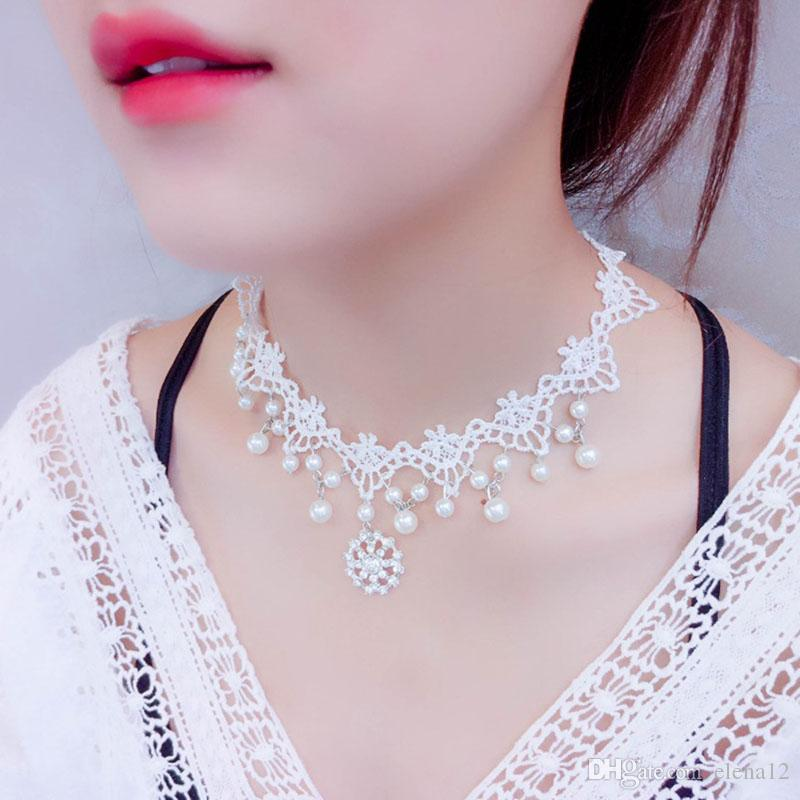 Front and Back Crystal Chain Necklace for Women Dress Summer JewelryK  #e