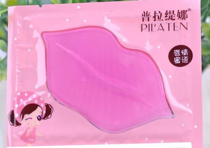 Super Versão Pilaten Lip Máscaras Cristal Colágeno Lip Care Esfoliante Hidratante Labial Tratamento