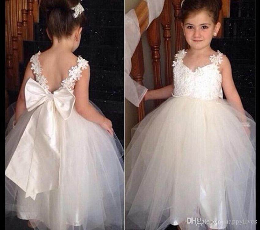 Pageant Dresses For Girls Kidstoddler Children Cute Straped Lace