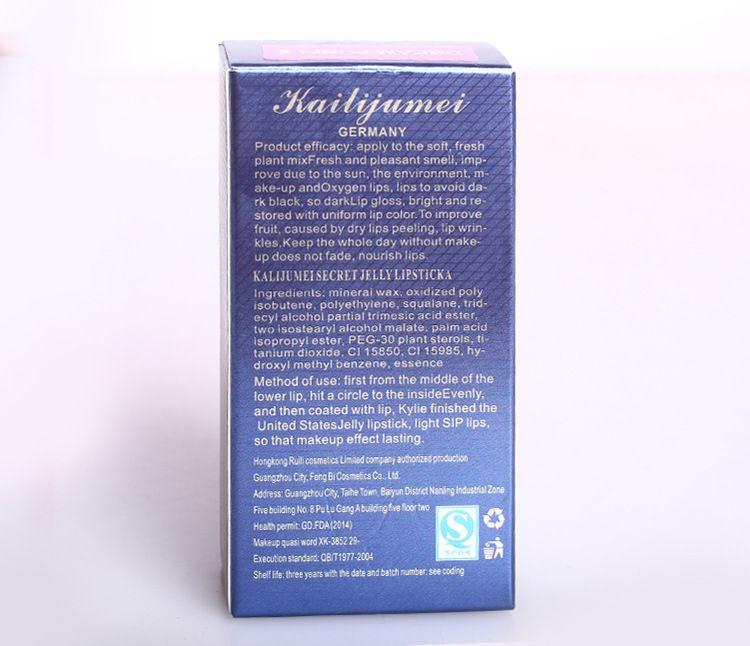 Geléia KAILIJUMEI Batom Lábio Maquiagem Mudança de Temperatura Hidratante Flor Lipgross Kailijumei Dupla Enfermagem, 100% Original, Hotsale