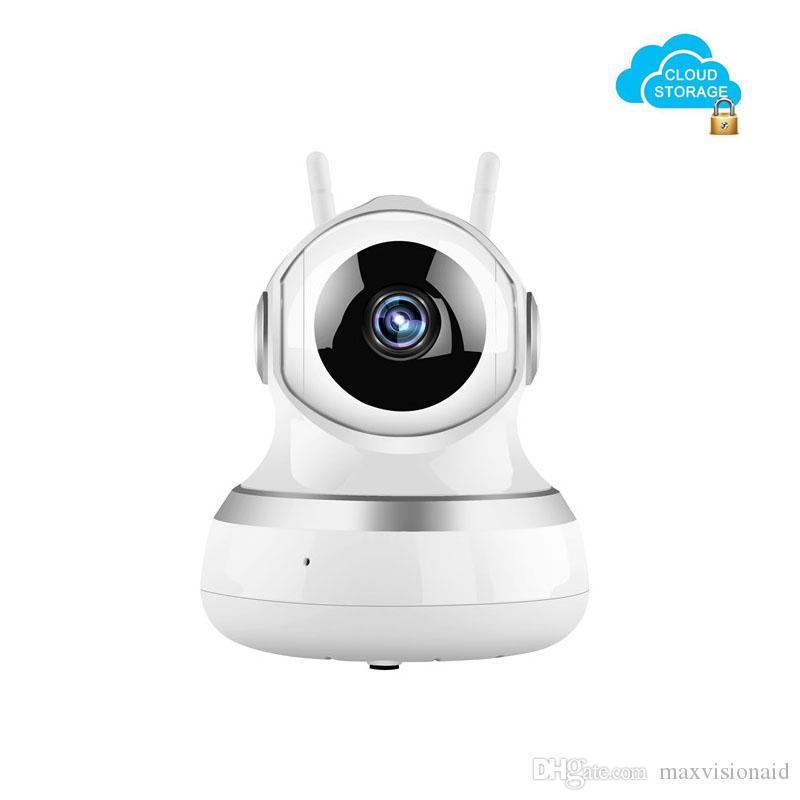 Wireless Security Camera, Cloud Storage Live Steam HD Home Surveillance IP Camera WiFi Baby Monitor with Night Vision Pan/Tilt Two way Talk