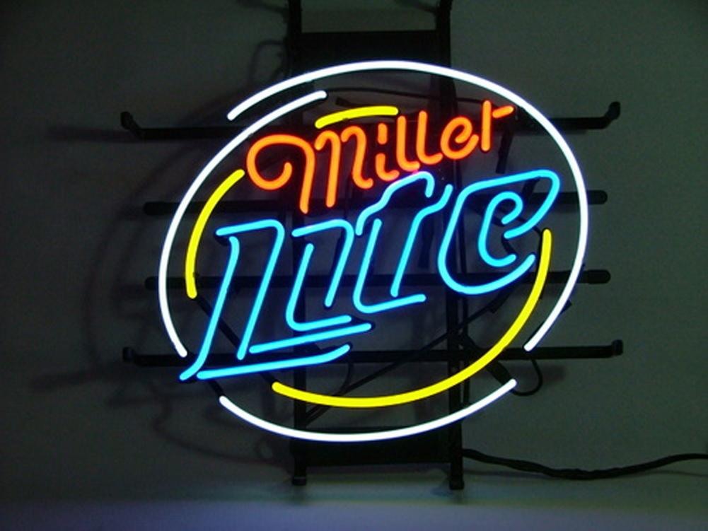 2018 miller lite beer real glass real glass neon light sign home 2018 miller lite beer real glass real glass neon light sign home beer bar pub recreation windows garage wall sign from loveneon 9448 dhgate aloadofball Choice Image