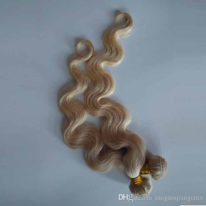 7A 저렴 한 브라질 처녀 인간의 머리 짜 다 페루 말레이시아 처녀 레미 머리 wefts 3 4 / 인도 중국 인간의 머리카락 확장