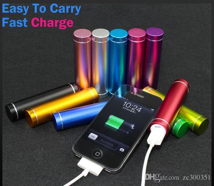 2600 mah Cargador y Batería 2600mAh USB Charging Ports banco de potencia portátil para All Cell Phone table PC MP3