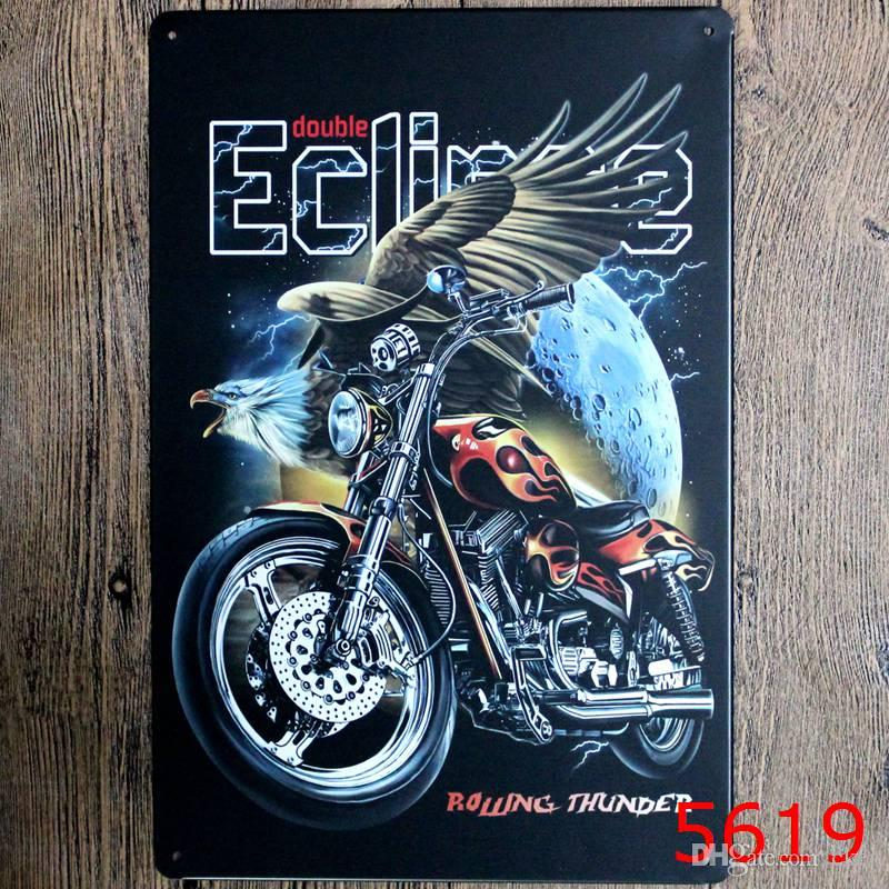 2018 Indian Motorcycle Humble Classic Coffee Shop Bar Restaurant Wall Art Decoration Metal Paintings 20x30cm Tin Sign From Cker 3719