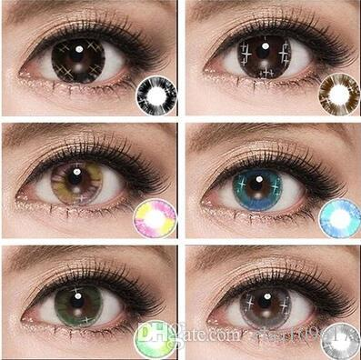 Colorful Cosmetic Contact Lenses For Eyes Beauty Girls