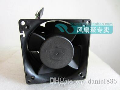 원래 GFC0812DW 12V 델타 8cm8080 7.2A 매우 강력한 터보 차저 듀얼 모터 팬
