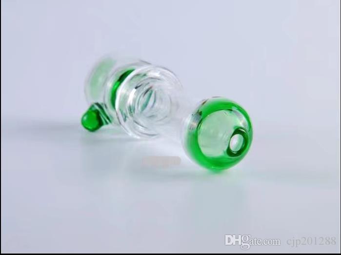 Çift renk yapışan cam boru Toptan Cam bongs Yağ Burner Cam Su Boruları Petrol Kuleleri Sigara Ücretsiz