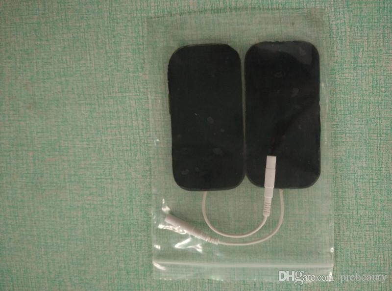 العضلات الكهربائية تحفيز الجمال جهاز EMS الروسية موجة الذاتي العصا وسادات عشرات تدليك الجسم آلة العلاج