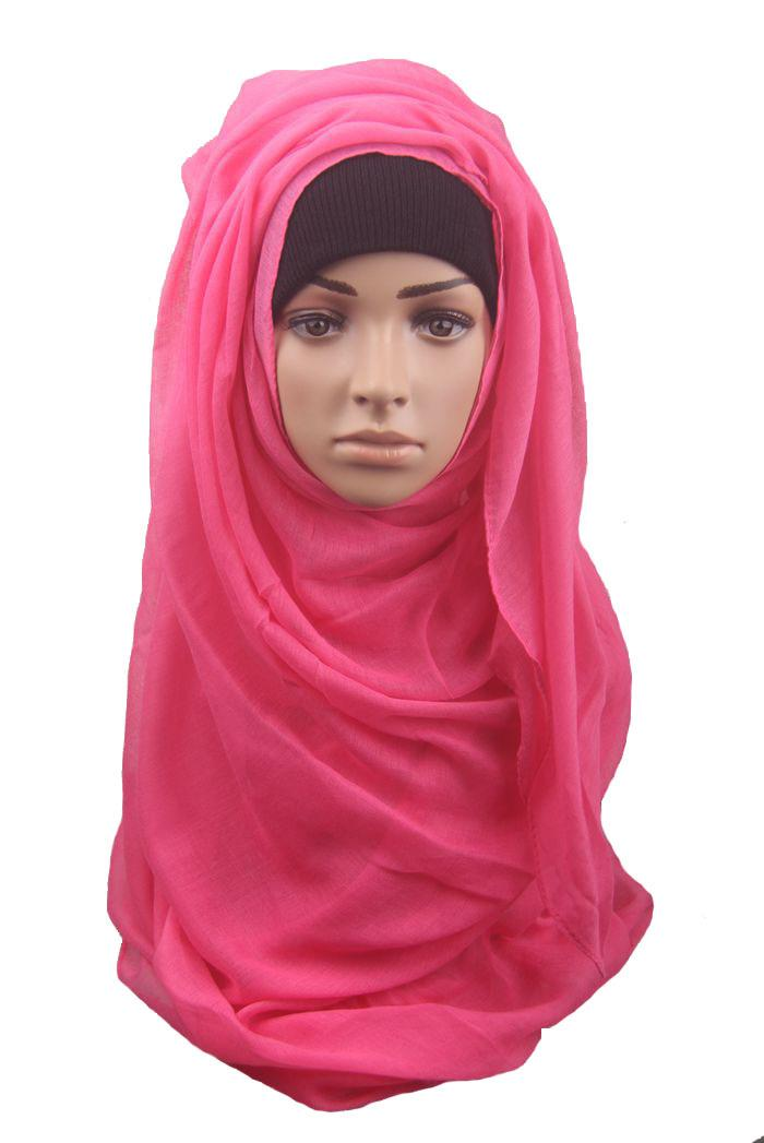 Wholesale girls Muslim towels 13 different pure color lady hijab veil scarf fashion scarves wraps DHL fast shipping