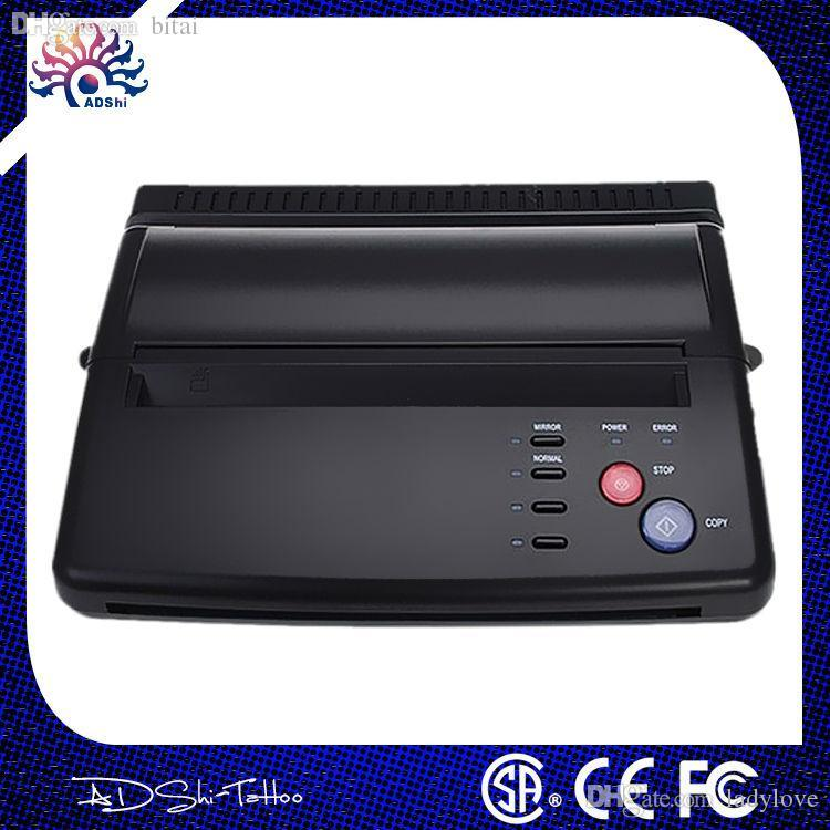 Wholesale-lowest price A4 Transfer Paper black Tattoo copier thermal stencil copy Transfer Tattoo machine