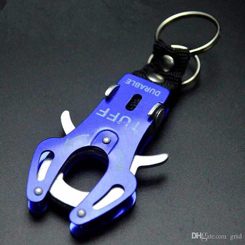 Fashion Durable Snap Clip Climb Hook Carabiner Clip Lock Keychain Keyring Key Ring