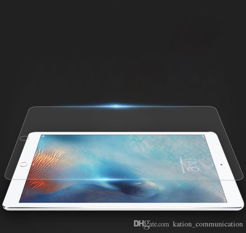 새로운 iPad 2017 4 5 6을위한 9H 프리미엄 강화 유리 스크린 보호 필름 Air Air2 Mini MINI4 Pro 9.7 10.5