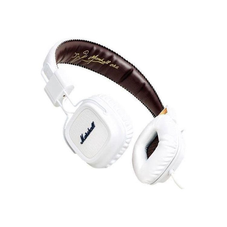 Hot Marshall Major auriculares con micrófono Deep Bass DJ Hi-Fi Headphone HiFi Headset Professional DJ Monitor sobre la oreja los auriculares