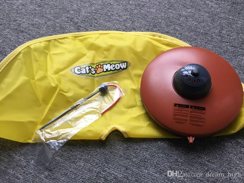 Cat's Meow nuevo Undercover Fabric Mouse interactivo Play Meow Cat Toy para Cat Kitty Divertido envío gratis