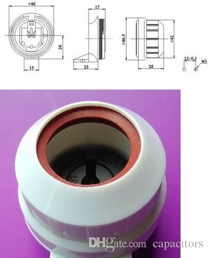 imperméabilisent les supports de lampe de la lampe IP67 G13 T8 @ des bases pour des tubes légers