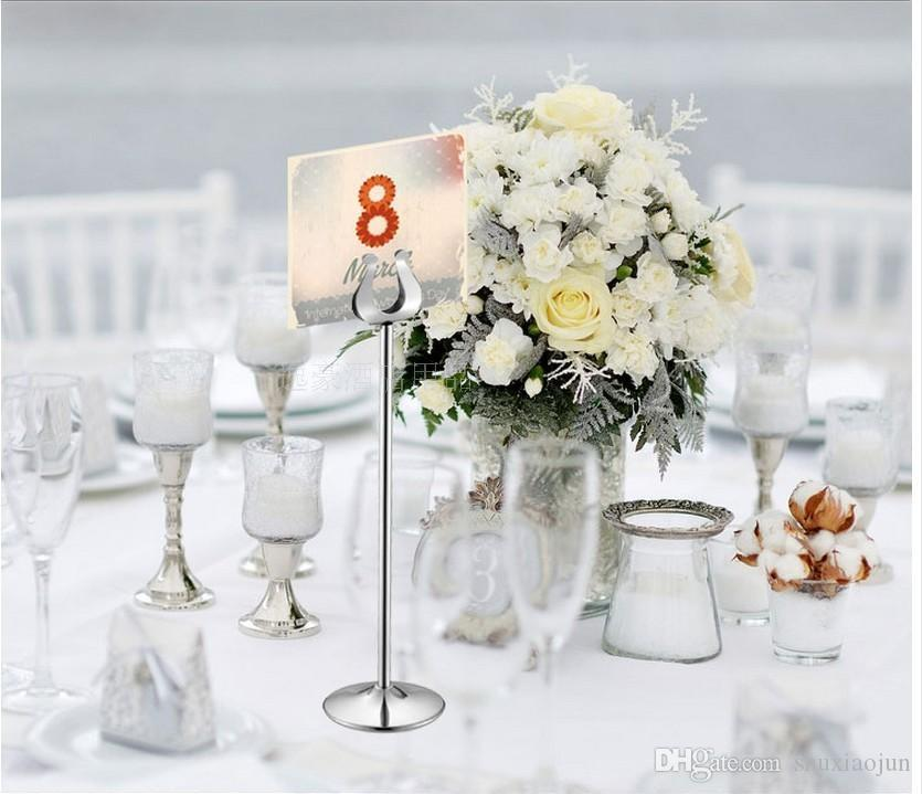2019 Large Size 101214 Inch Tall Stainless Steel Table Number