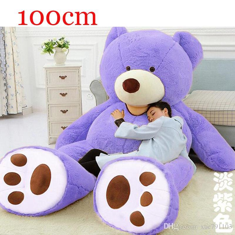 2018 life size teddy bear big giant teddy bears sale 100cm 39 39 39 giant teddy bear teddy bears. Black Bedroom Furniture Sets. Home Design Ideas