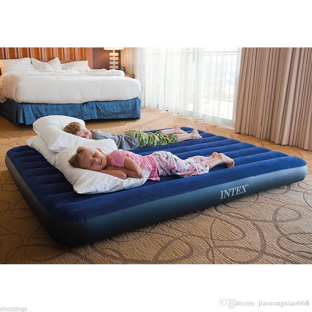 camping queen air mattress 2018 Inflatable Airbed Queen Size Air Mattress Camping Waterproof  camping queen air mattress