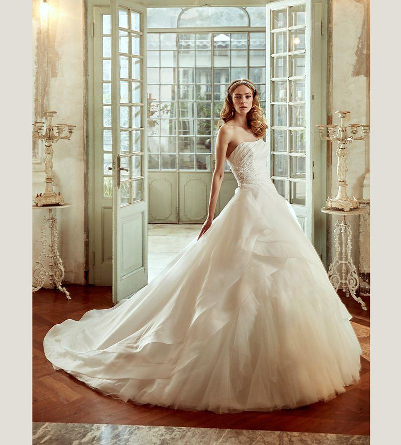 Haute Couture Strapless Organza Ruffled Ballgown Lovely Wedding ...